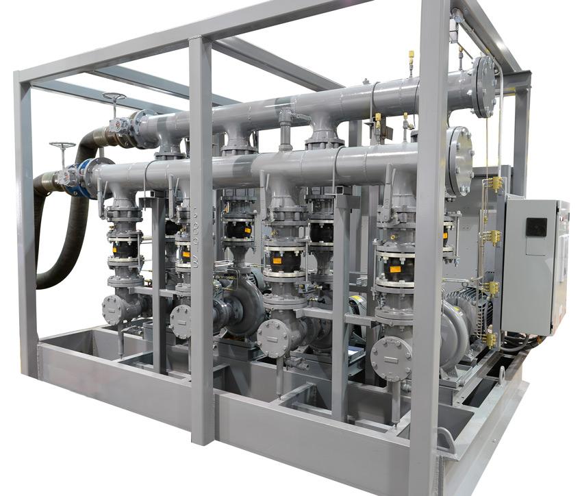 HVAC pumping by TF